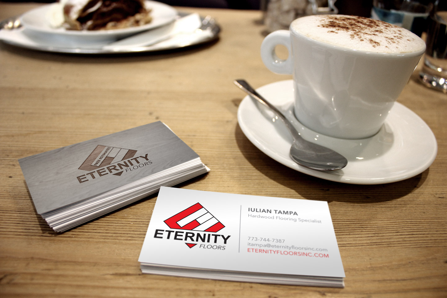 Business Cards by Eternity Floors Chicago