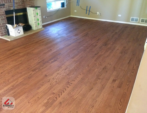 Thinking of covering up that old hardwood floor?