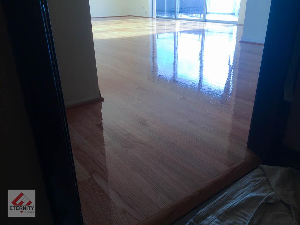 water damage floor